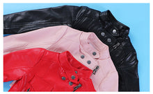 Spring Leather Jacket Coat
