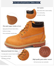 Breathable Martin Boots
