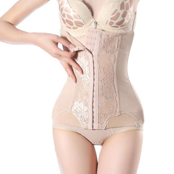 Waist Trainer Corset with Steel Boning