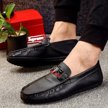 Casual Leather Driving Shoes