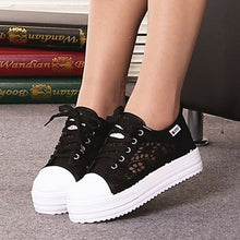 Breathable Lace Hollow Sneakers