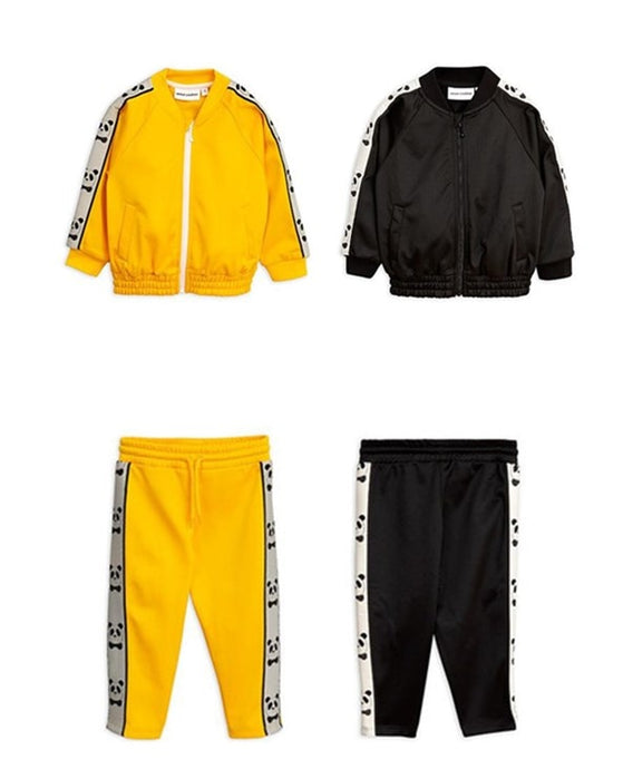 Printed Panda Outwear Set
