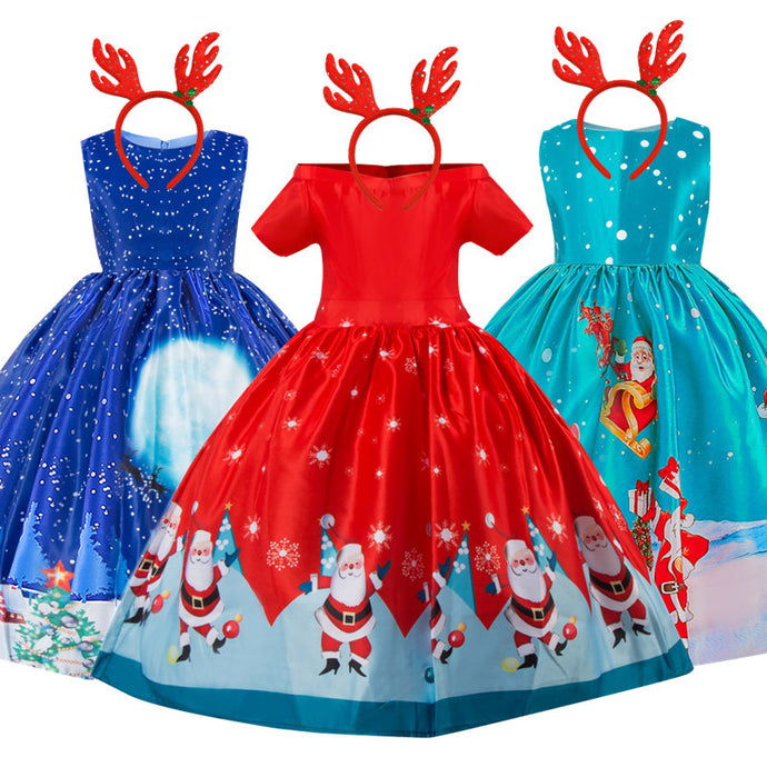 Christmas Evening Party Dress