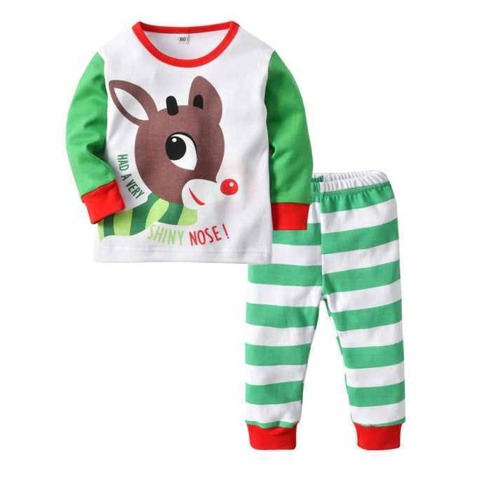 Santa Deer Pajama Set