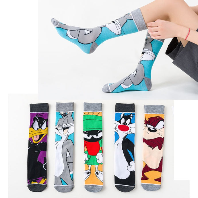 Breathable Cartoon Socks