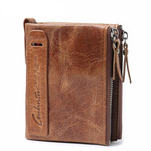 Crazy Horse Leather Wallet