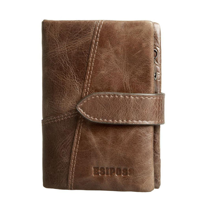 Retro Hasp Leather Wallets