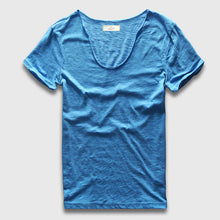 Casual V-neck Slim Fit T-shirt