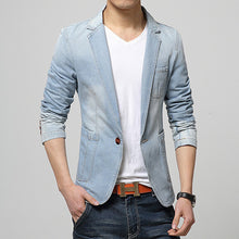 Casual Slim Fit Denim Jacket