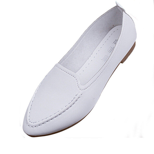 Slip-On Flat Shoes