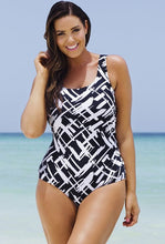 Retro Print One Piece Swimsuits