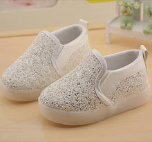 Cartoon Sequins PU Shoes