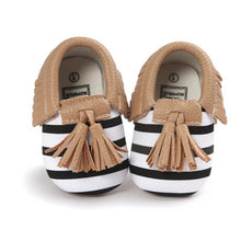 Fringe Soft Soled PU Suede Shoes