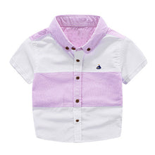 Cool Patchwork Short Sleeve Shirts