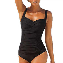 Retro Push Up One Piece Swimsuit