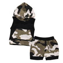 Cotton Hooded Vest Outfits Set