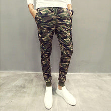 Camouflage Slim Fit Pants