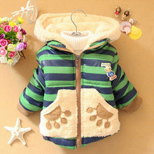 Cartoon Bear Winter Hoodies