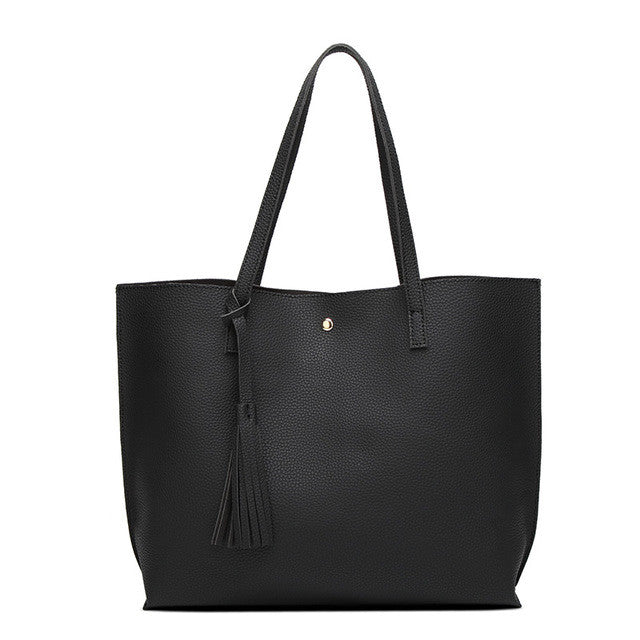 Soft Leather Top Handle Bag