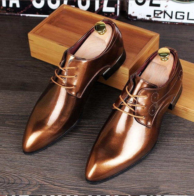 Casual Oxfords Leather Shoes