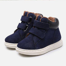 Casual Leather Upper Shoes
