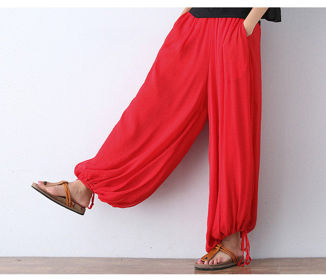 Bloomers Wide Leg Pants