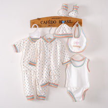 8pcs Cotton Baby Clothing Sets