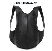 Anti Theft PU Leather Backpack