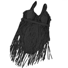 Sexy High Waist Tassels Bathing Suit