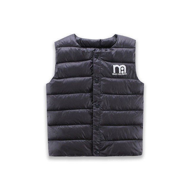 Cotton Down Parkas Warm Vest