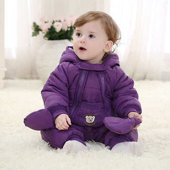 Winter Jumpsuit Coverall Clothes