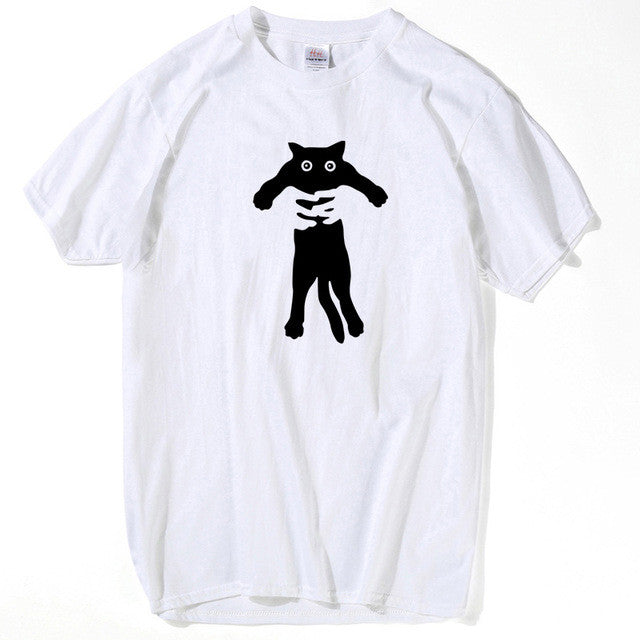 Anime Black Cat Top Tees