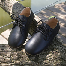 Casual Cowhide Oxford Shoes
