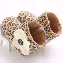 Lovely Flower Cotton Boots