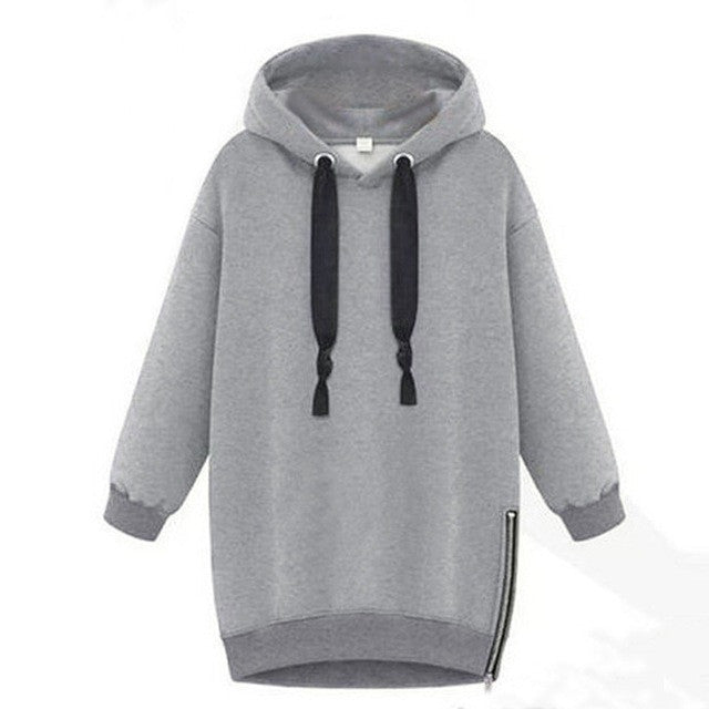 Casual Long Sleeve Hooded Sweatshirt