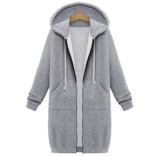 Casual Zip Up Long Hoodies Sweatshirts