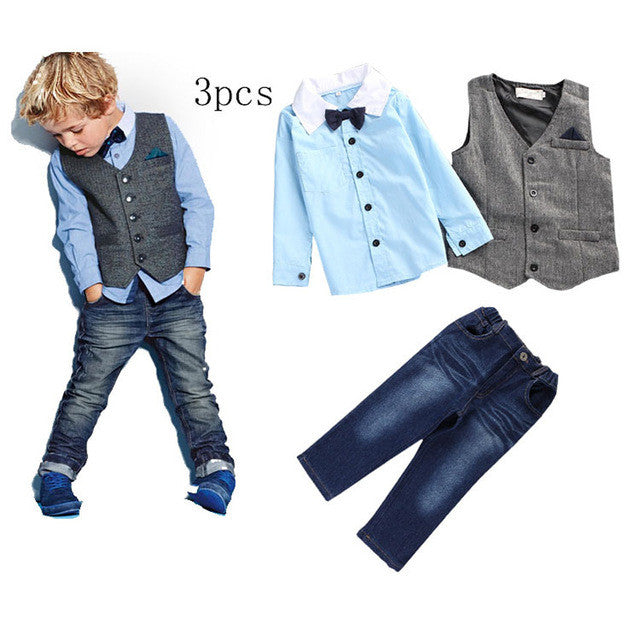 Summer Gentleman Clothing Set