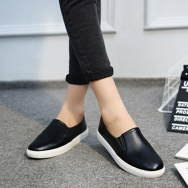 Casual Moccasins Leather Shoes