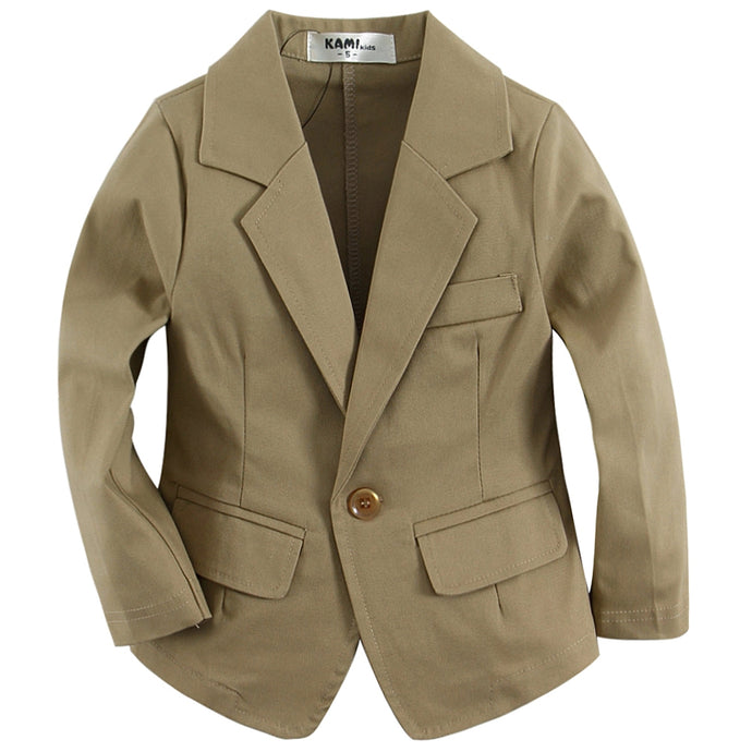 Toddler Single Breasted Blazer