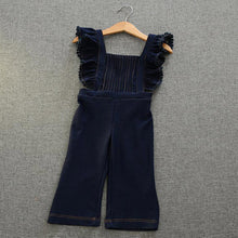 Autumn Loose Denim Overalls