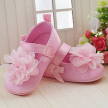 Flower Soft Sole Crib Shoes