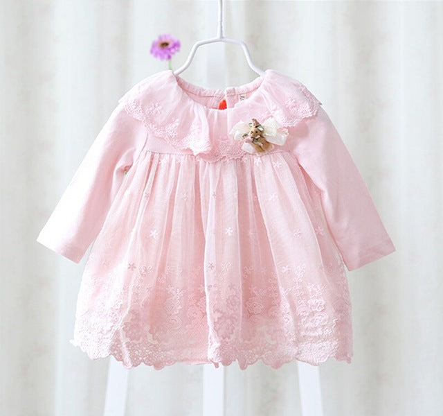 Christening Cotton Dress