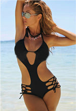 Top Halter Monokini Swimsuit