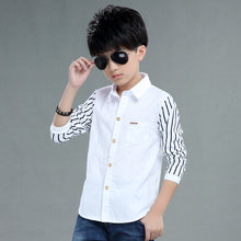 Casual Stripe Shirts Tops