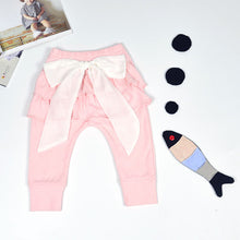 Big Bow Chiffon Pants