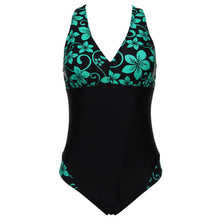 Floral Patchwork One Piece Swimsuits