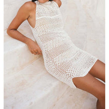 Crochet Knitted Cover up Dress