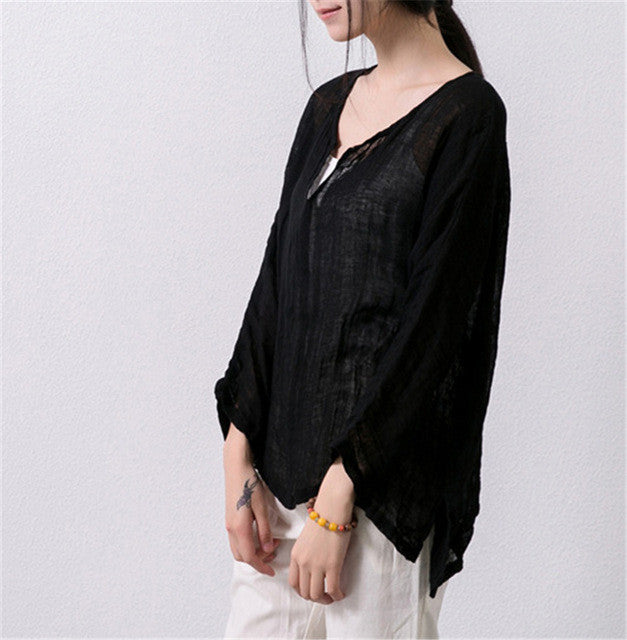 Asymmetric Sweep Shirts