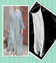 Comfortable Silk Loose Dress