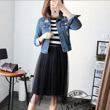 Casual Mesh Pleated Modal Vest Dress